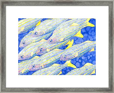 Striped Pajamas Framed Print