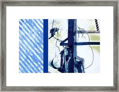 Stripes Framed Print by Ann Powell