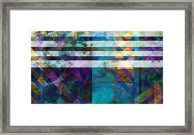 Stripes Four  -abstract -art Framed Print