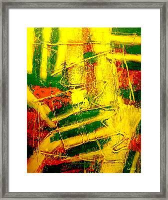Stripes Framed Print by John  Nolan