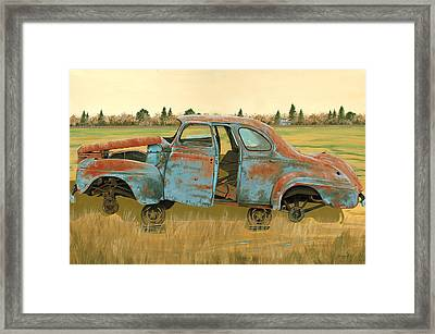 Stripped Down Framed Print by John Wyckoff