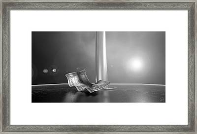 Strippers Recession Framed Print