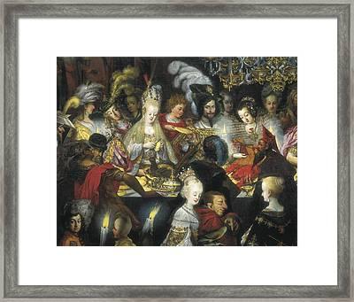Strobel, Barthel 1591-1642. The Framed Print by Everett