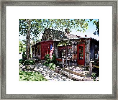 Strode Mill West Chester Pa Framed Print