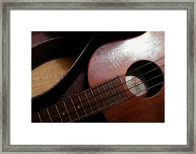 Strokes Of Time Framed Print by James Temple
