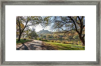Stroll With Sugarloaf Framed Print