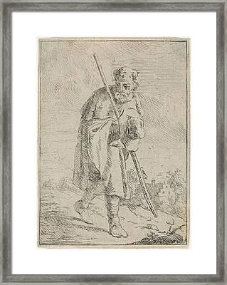 Stroller, Jan Lauwryn Krafft Framed Print by Quint Lox
