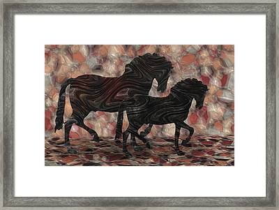 Strollin' 2 Framed Print by Jack Zulli