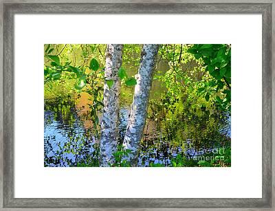 Strolling With Renoir Framed Print by Lauren Leigh Hunter Fine Art Photography