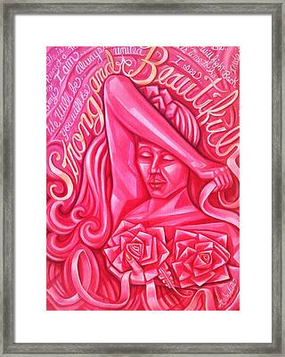 Strong And Beautiful Framed Print by Ruben Archuleta - Art Gallery