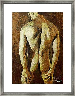 Strong Body Framed Print by Dragica  Micki Fortuna