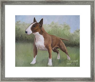 Strong Framed Print by Jindra Noewi