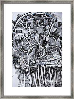 Strong Roots Framed Print
