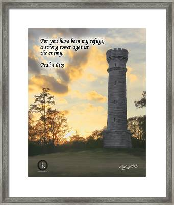 Strong Tower Framed Print