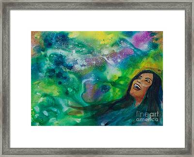 Strong Women Of The World  Wonderment Framed Print by Ilisa Millermoon