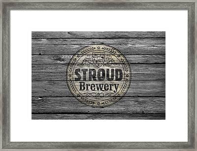 Stroud Brewing Framed Print
