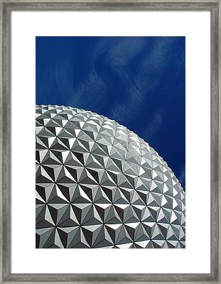 Framed Print featuring the photograph Structural Beauty by David Nicholls