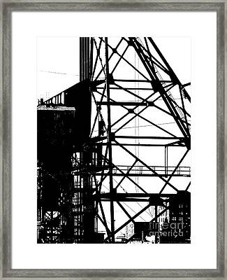 Structure 3 Framed Print
