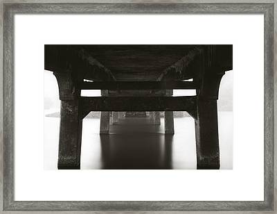 Framed Print featuring the photograph Structure by Amarildo Correa