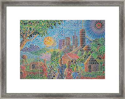 Structures Of Home Framed Print