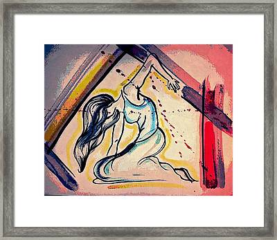 Struggle And Strength Framed Print by Kiara Reynolds
