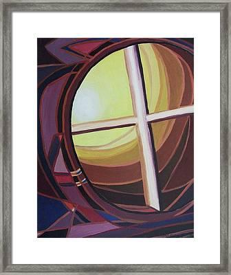Struggle Framed Print by Suzanne  Marie Leclair