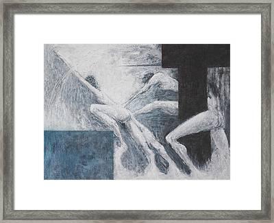 Struggle Framed Print by Wayne Carlisi