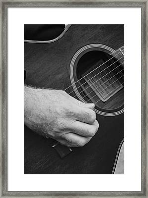 Strum Framed Print by Stephanie Grooms