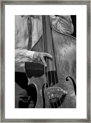 Strummin Framed Print by Sheryl Thomas