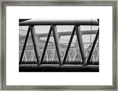 Struts And Shadows Framed Print