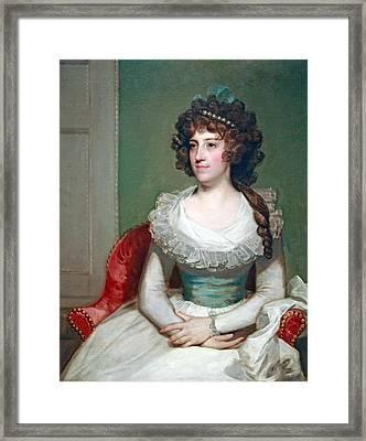 Stuart's Matilda Caroline Cruger Framed Print