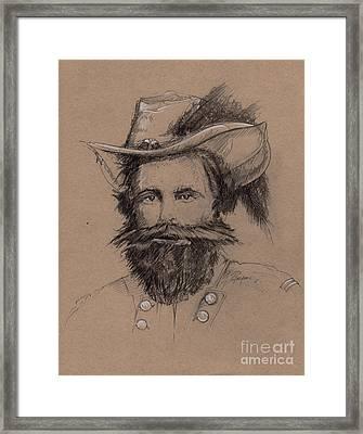 Stuart's Rebuke Framed Print