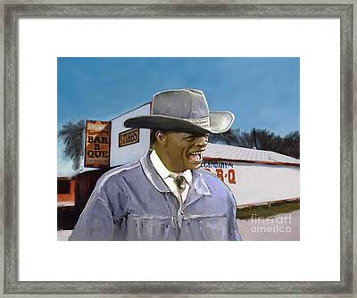 Stubb's Framed Print by G Cannon