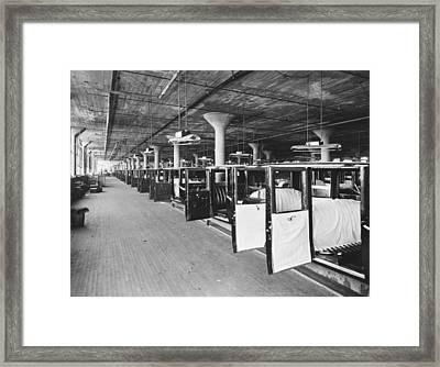Studebaker Assembly Factory Framed Print