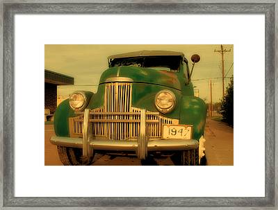 Studebaker For Sale Framed Print by Tony Grider
