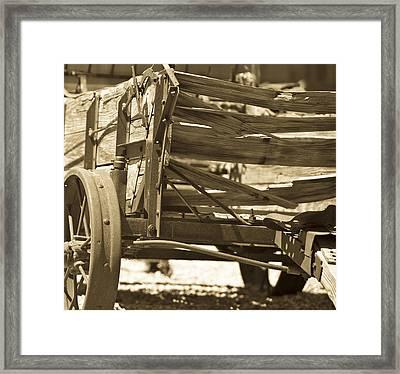 Studebaker  Wagon Framed Print by Gilbert Artiaga