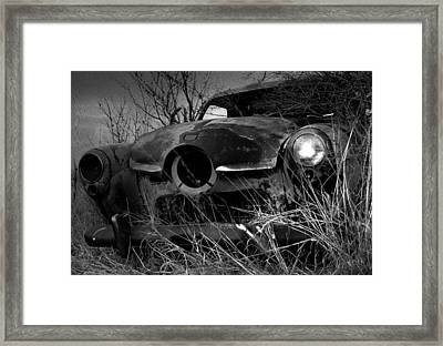 Framed Print featuring the photograph Studebaker  by Jim Vance