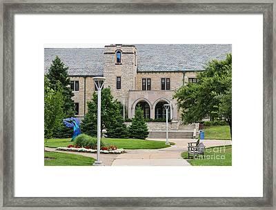 Student Union-university Of Toledo 1601 Framed Print by Jack Schultz