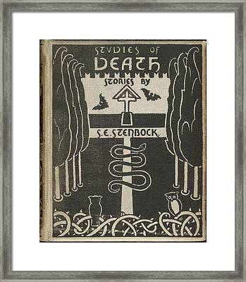 Studies Of Death Framed Print by British Library