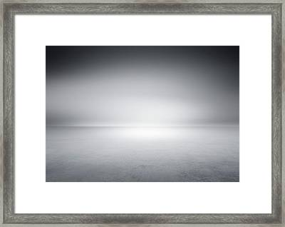 Studio Background Framed Print by Aaron Foster