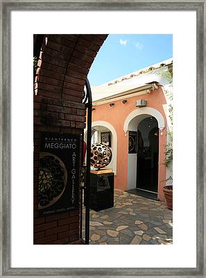 Studio Entrance Framed Print
