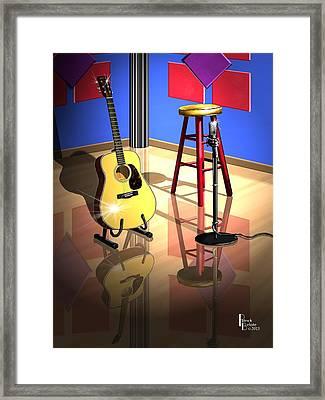 Studio Time Framed Print by Patrick Belote