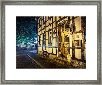 Studwork House Framed Print by Daniel Heine