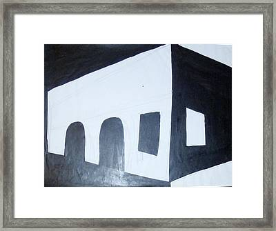 Study 6 Framed Print by Erika Chamberlin