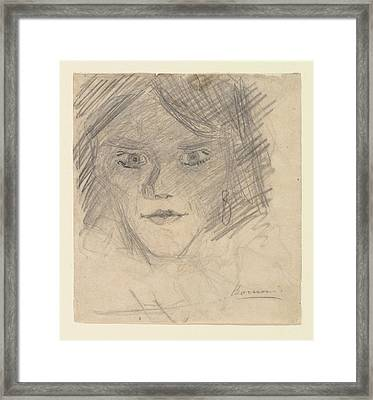 Study For Modern Idol Framed Print