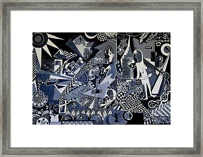 Study In Addiction Framed Print