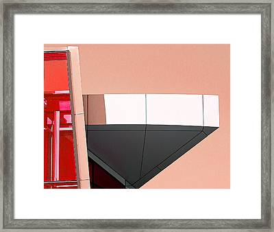 Study In Architecture Framed Print