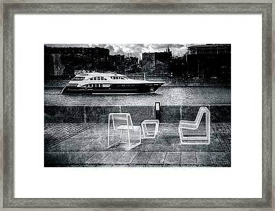 Study In Black And White Framed Print by Alexander Senin