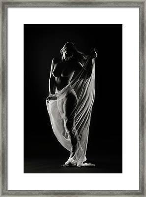 Study In Darkness And Light #1 Framed Print