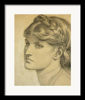 Temperament Drawings Framed Prints